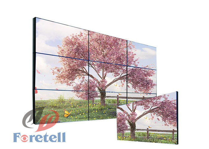 LED Backlight Multi Screen Tv Wall Commercial Wall Display Systems For Retail Store