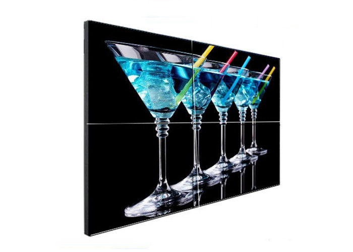 LCD 4k Video Wall 55 Inch LG Lcd Panels Multi Displays 3840*2160